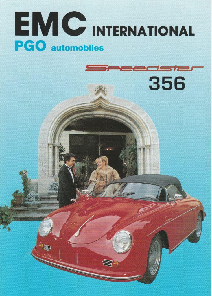 PGO speedster 356 Replica
